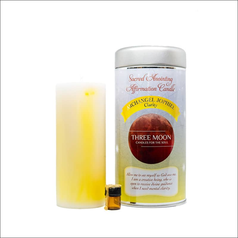 Archangel Jophiel Clarity candle