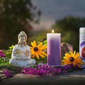 affirmation candle Divine Goddess